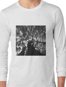 In black and white Stunning Trees  Long Sleeve T-Shirt
