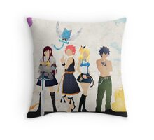 The Protagonists - Fairy Tail  Throw Pillow