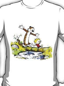 Calvin And Hobbes Funny Adventure T-Shirt