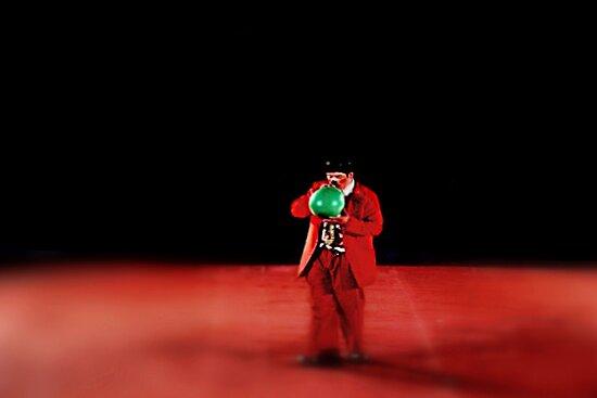 Circus Clown by Carla Jensen