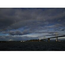 rainbow over the Bay Photographic Print