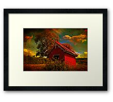 The Sun Said Hello Framed Print