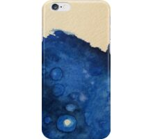 Blue Splashes Watercolor iPhone Case/Skin