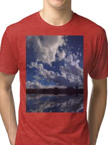 ©The Sun Series XIX Move On With The Wind IIID Tri-blend T-Shirt