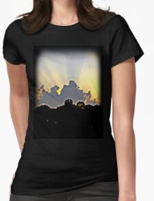 Rays of Light Womens Fitted T-Shirt
