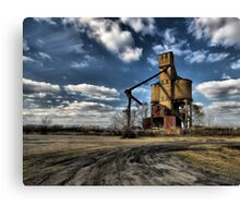 State of the Economy  Canvas Print