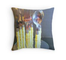 On end. Throw Pillow