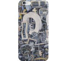 abstract study 3 iPhone Case/Skin