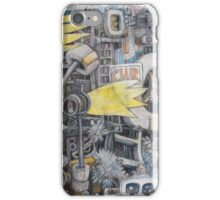 abstract study 4 iPhone Case/Skin