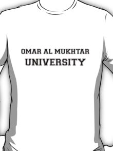 OMAR AL MUKHTAR UNIVERSITY T-Shirt