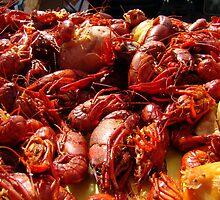 Louisiana Crawfish by Wanda Raines