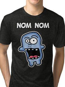 Nom Nom Zombie Tri-blend T-Shirt