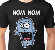 Nom Nom Zombie Unisex T-Shirt