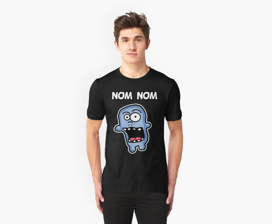 Nom Nom Zombie by Rajee