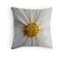 Flora macro Throw Pillow