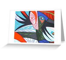 crow gallo Greeting Card