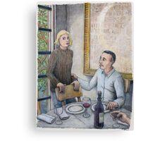 Showing Concern Canvas Print
