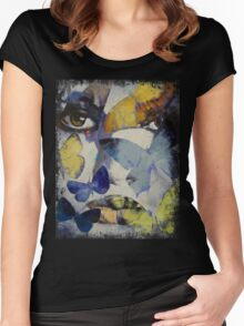 Butterflies Women's Fitted Scoop T-Shirt