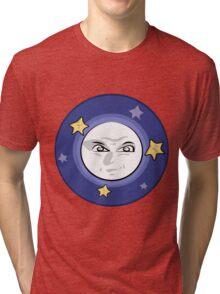 Bad Moon and Stars Rising Tri-blend T-Shirt