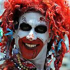 Crazy Ronald McDonald by joAnn lense