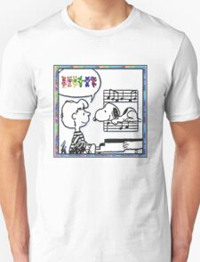 snoopy's notes T-Shirt