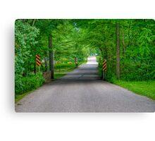 Pleasant Drive Canvas Print