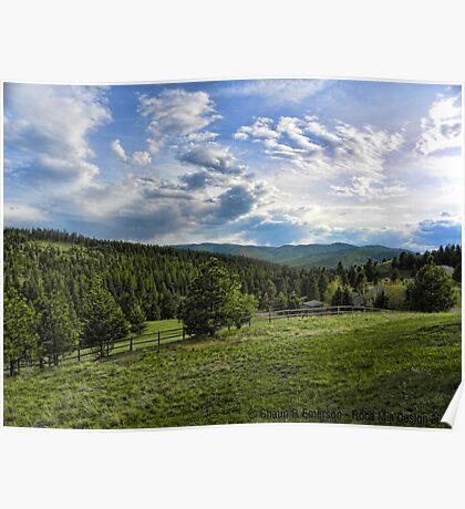 Mountain Meadow Poster