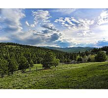 Mountain Meadow Photographic Print