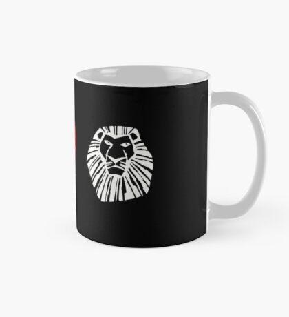 I Heart The Lion King (Classic Logo) (Inverted) Mug