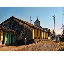 Village Mission Photographic Print