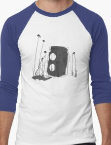 Revolution (Black) Men's Baseball ¾ T-Shirt