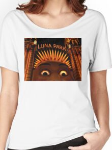 LUNAcy - luna park at night Women's Relaxed Fit T-Shirt