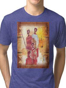 African Indaba - Ethnic series Tri-blend T-Shirt