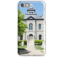 Glen Rose Historic Courthouse iPhone Case/Skin