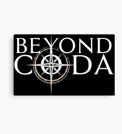 Beyond Coda Light Logo Canvas Print
