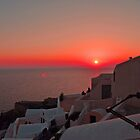 Oia sunset by Annbjørg  Næss
