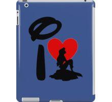 I Heart Little Mermaid iPad Case/Skin