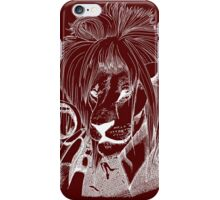 Goblin King of the Jungle (White Line) iPhone Case/Skin