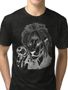 Goblin King of the Jungle (White Line) Tri-blend T-Shirt