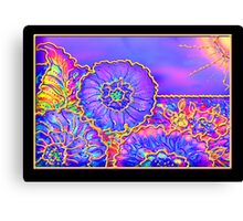 Poster, Print, 'Psychedelic Suncatcher' Canvas Print