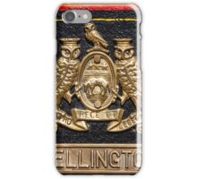 Wellington Name Badge iPhone Case/Skin