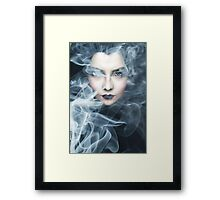 SMOKESCREEN 4 Framed Print