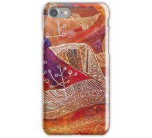 golden maze iPhone Case/Skin