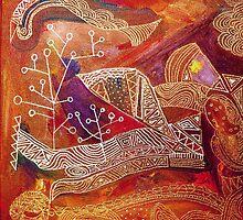 golden maze by Marianna Tankelevich