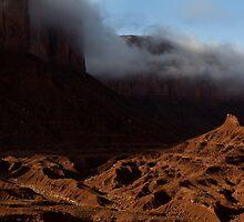 Mitchell Mesa, Monument Valley Navajo Tribal Park, Arizona by Rick Ferens