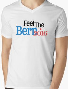 FEEL THE BERN III Mens V-Neck T-Shirt