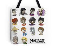 Ninjago Season 4  Tote Bag