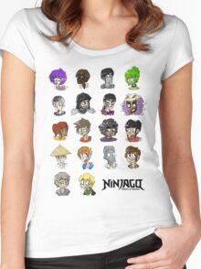 Ninjago Season 4  Women's Fitted Scoop T-Shirt