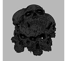 heartless skulls Photographic Print
