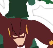 D.C-The Arrow, The Flash Sticker